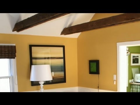 vaulted ceiling in a large room interior design tips youtube. Black Bedroom Furniture Sets. Home Design Ideas