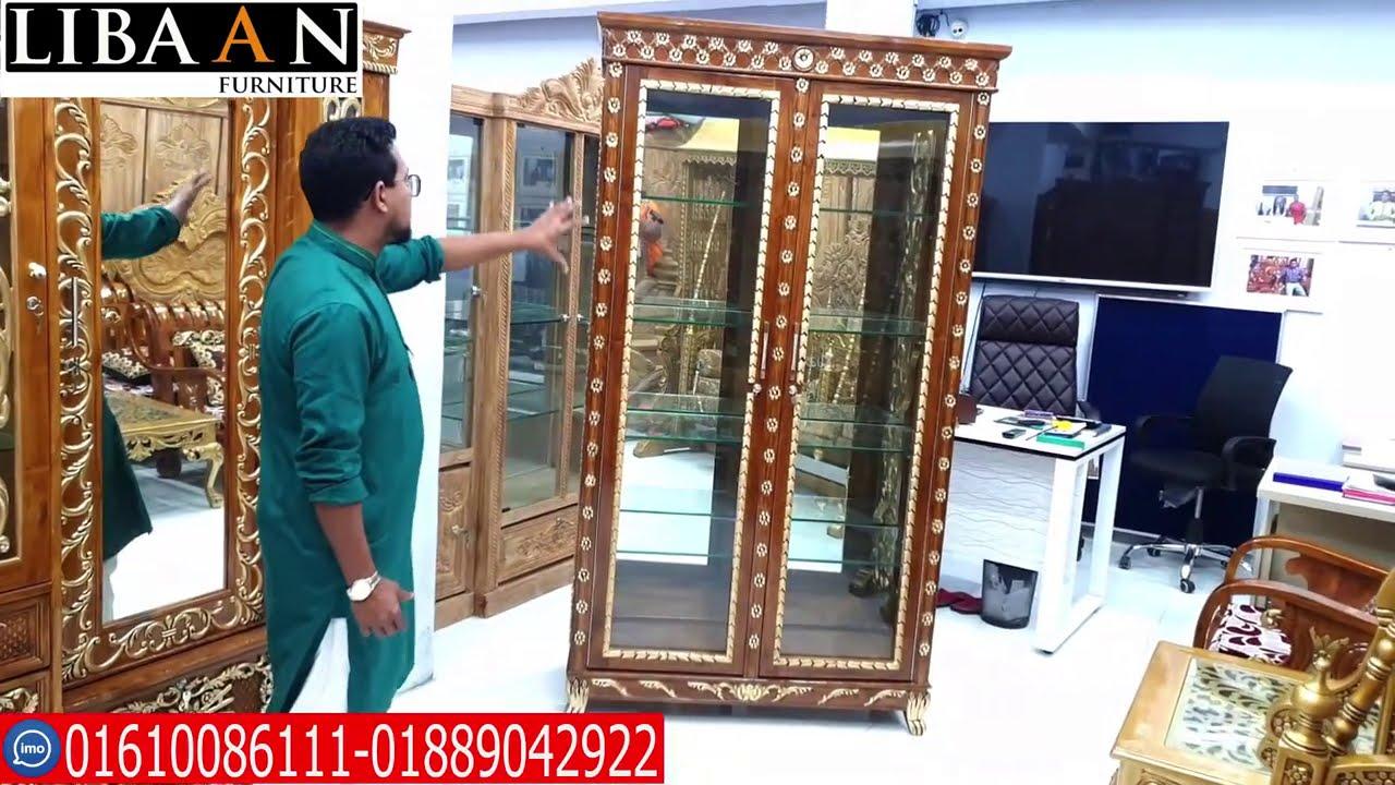 স্মার্ট কর্নার সেগুন কাঠের  living furniture in bangladesh libaan furniture