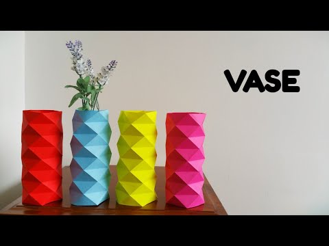 Vase Sleeve - DIY | How to make | Tutorial | Origami - 778