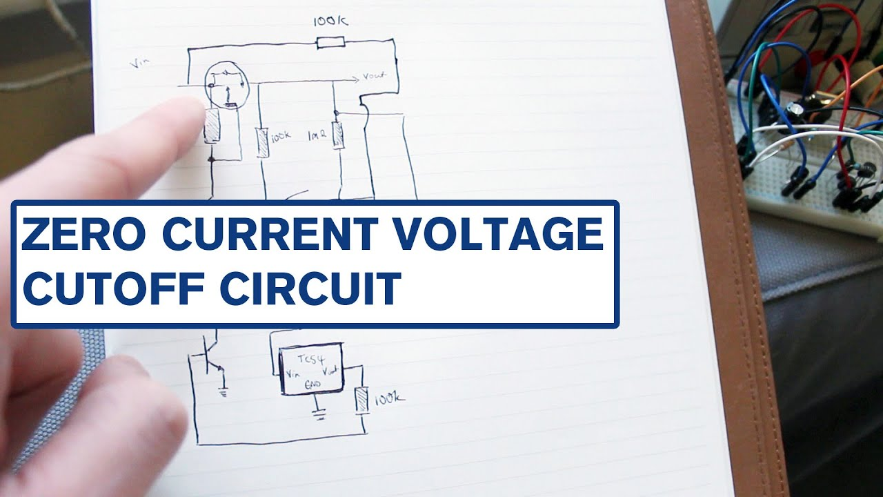 Zero Current Low Voltage Cut Off and Latching Power Switch  YouTube
