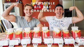 impossible big mac challenge