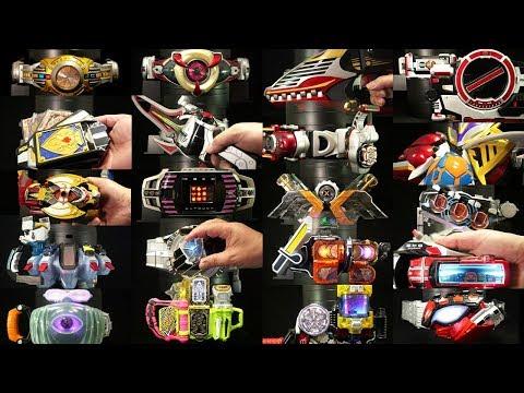 平成仮面ライダー TV版ファイナルフォーム オールライダー変身アイテム スペシャル 2018 Kamen Rider All Heisei TV ver Final form items
