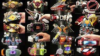 平成仮面ライダー TV版ファイナルフォーム オールライダー変身アイテム スペシャル 2018 Kamen Rider All Heisei TV ver Final form items thumbnail