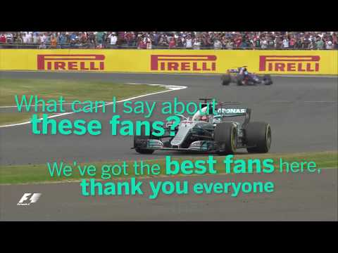 2017 British Grand Prix | Best Of Team Radio
