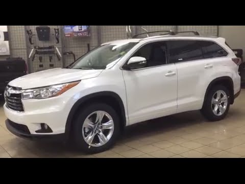 2016 toyota highlander limited review youtube. Black Bedroom Furniture Sets. Home Design Ideas