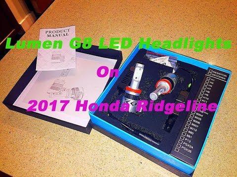 It's so easy to install Lumen G8 LED kits on 2017 Honda Ridgeline