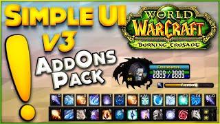 Simple Ui v3 - Burฑing Crusade Classic - Addon Pack