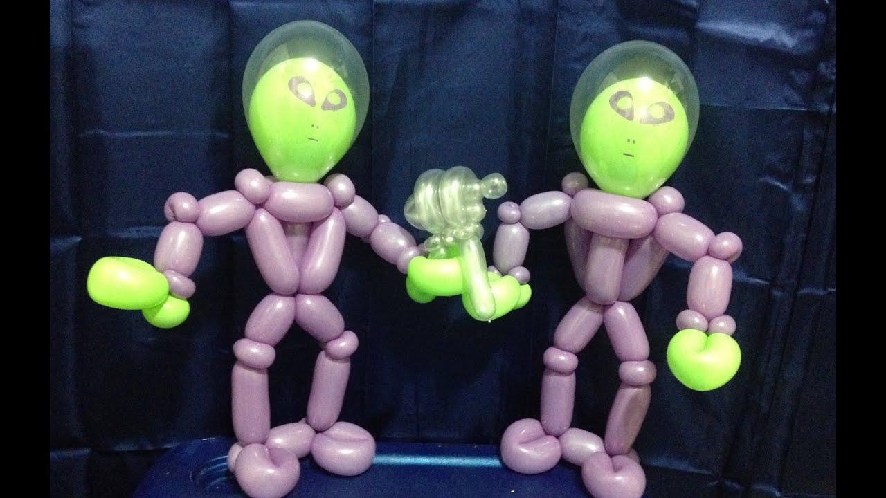 Alien Astronaut Balloon Twisting Lesson YouTube
