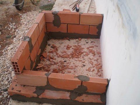 Como hacer una chimenea en el patio youtube for Construccion de chimeneas de ladrillo
