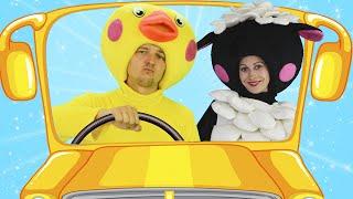 Автобус - Песня про Машинки для Детей и Малышей | Сборник детских песенок | Чух Чух ТВ