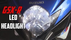GSX-R LED Headlight Install | 06-07 GSXR| Str805Speed