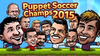 Puppet Soccer Champions 2015 - Android Gameplay HD