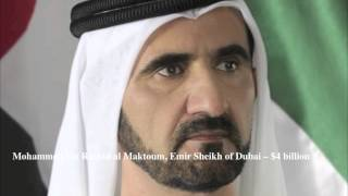 Top 10 Richest Royals in the World [HD]