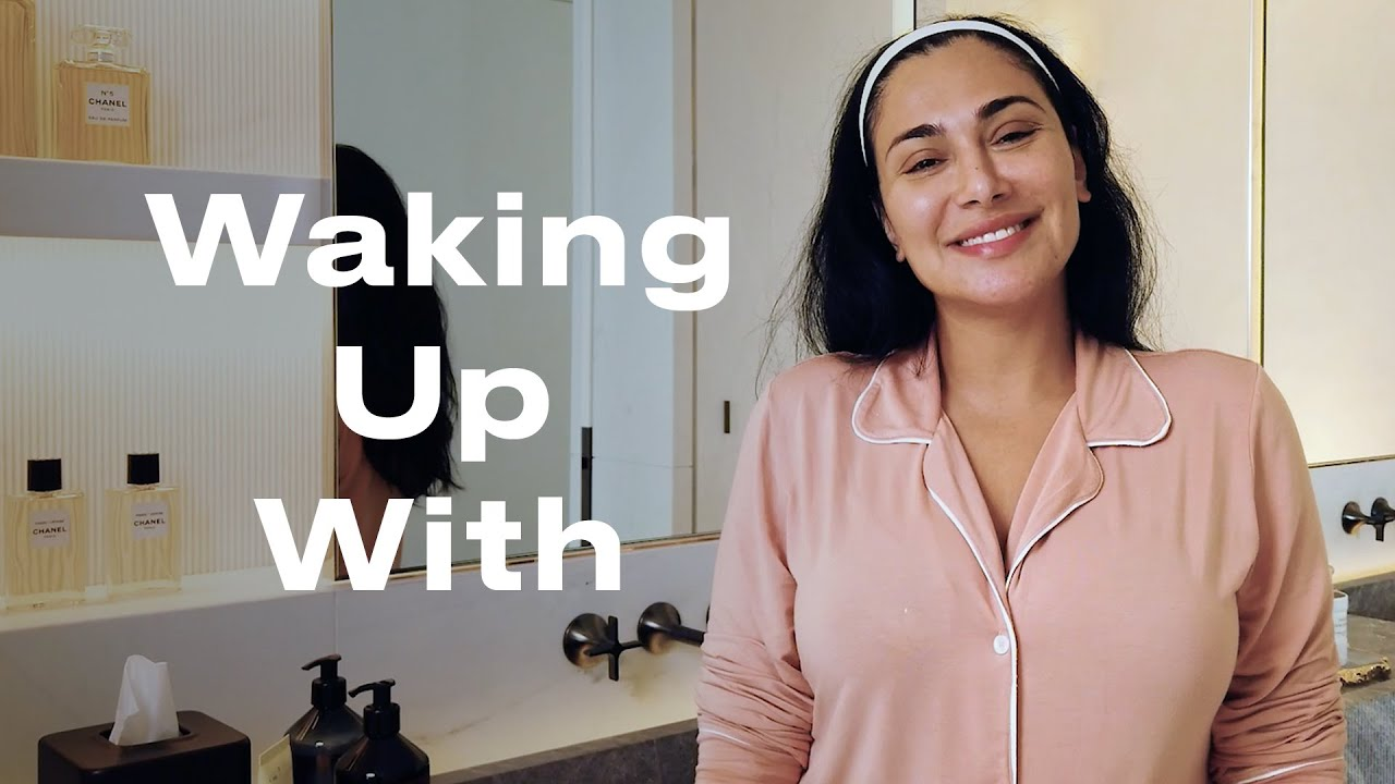 Huda Kattan Reveals How to Achieve Her Signature Glow   Waking Up With