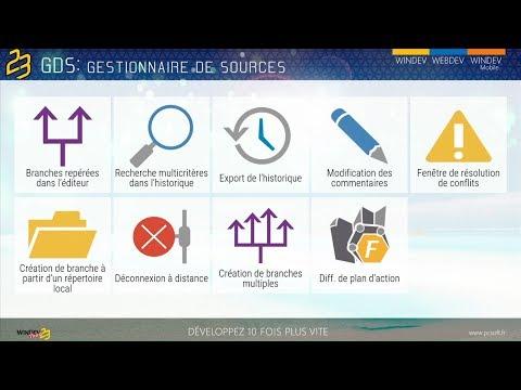 6 nouveaut�s du GDS de WINDEV 23