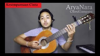 Video Chord Gampang (Kesempurnaan Cinta - Rizky Febian) by Arya Nara (Tutorial) download MP3, 3GP, MP4, WEBM, AVI, FLV Juli 2018