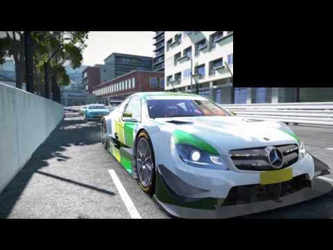 Project Cars DTM Week 2 Monaco Sprint - Mala Liga LTE