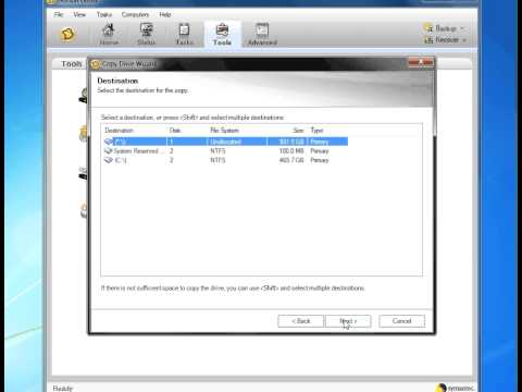 How To Clone Your Bootable Hard Drive Norton Ghost
