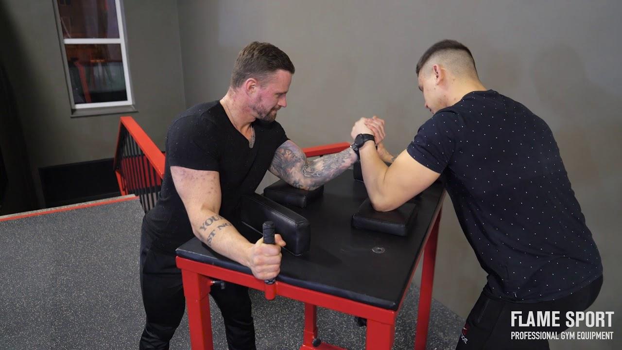 Armwrestling Tisch (1i) Flame Sport