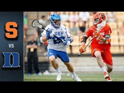 Syracuse vs. Duke ACC Men