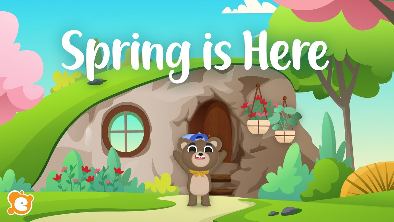 Spring is HERE! - A Spring and 4 Senses Song by ELF Learning