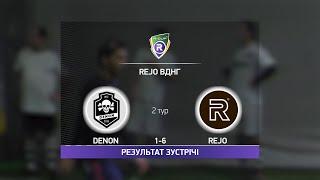Обзор матча Denon 2 6 Rejo Турнир по мини футболу в Киеве