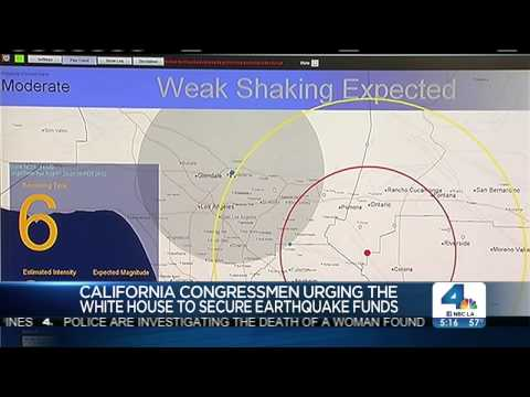 NBC Reports on Rep. Schiff  Fighting for Earthquake Early Warning System
