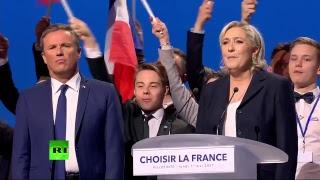 Meeting de Marine Le Pen à Villepinte (Direct du 1.05)