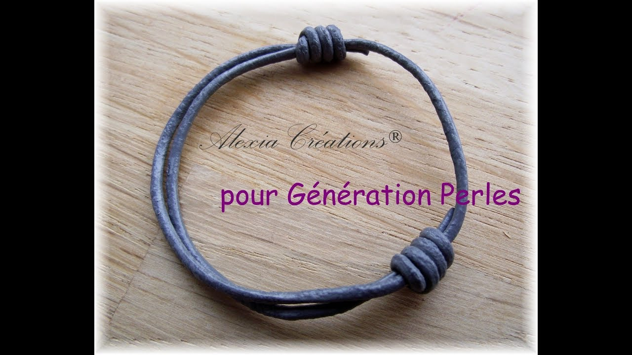 noeud coulissant pour collier