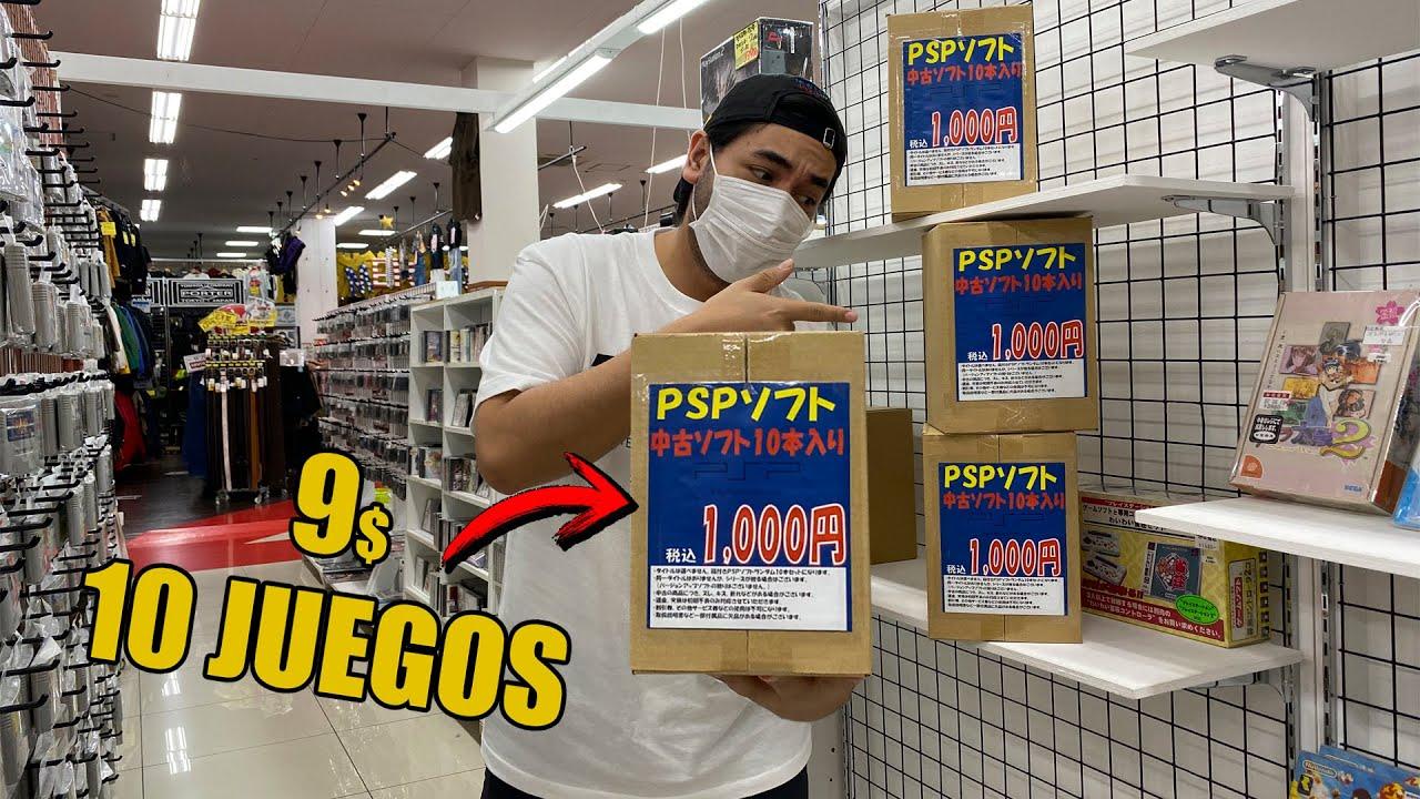 CAJAS SORPRESA PSP EN JAPON| PLAYSTATION PORTABLE | VIDEOJUEGOS RETRO
