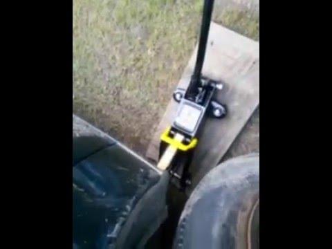 Blackjack Car Jack 2 Ton Demo From Walmart 20 Buck Youtube
