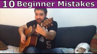 The 10 Guitar Beginner Mistakes & Obstacles - And How to Overcome Them