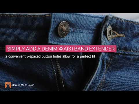 More Of Me To Love® Denim Waistband Extender