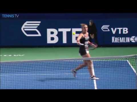 2016 Moscow Open Quarterfinal   Svetlana Kuznetsova vs Tímea Babos   WTA Highlights