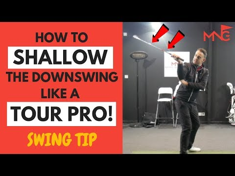 How To Shallow The Downswing Like A Tour Pro – Golf Swing Tip