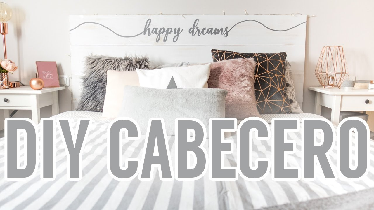Diy cabecero de cama youtube for Cabecero cama diy