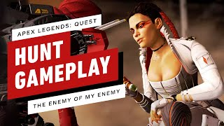"""Apex Legends Quest Hunt 9: """"The Enemy of My Enemy"""" Complete Gameplay"""
