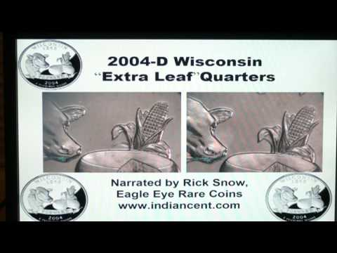 Wisconsin Extra Leaf Quarters - Rarity and values
