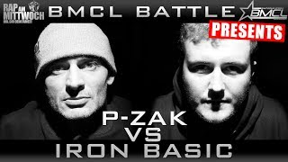BMCL RAP BATTLE: P-ZAK VS IRON BASIC (BATTLEMANIA CHAMPIONSLEAGUE)