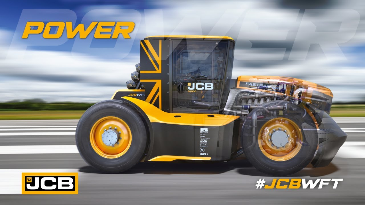 Power - JCB WFT Fastrac, the World's Fastest Tractor