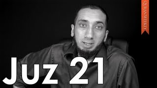 A Muslim is Not Racist [Juz 21] - Nouman Ali Khan - Quran Weekly