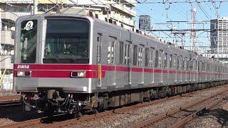 東武20050系21852F西新井~竹ノ塚通過