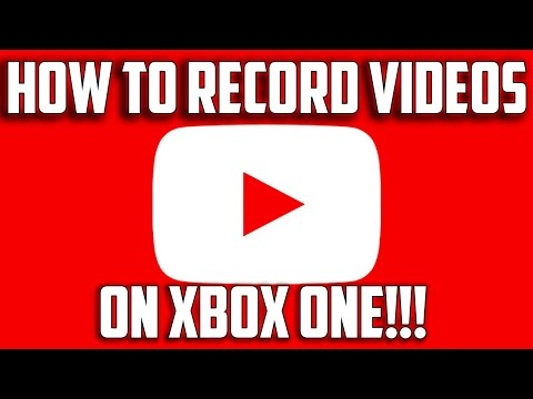 How To Record Youtube Videos On Xbox One!!