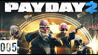 Let´s Play PayDay2 Multiplayer #005 Bankraub [German] [Full HD]