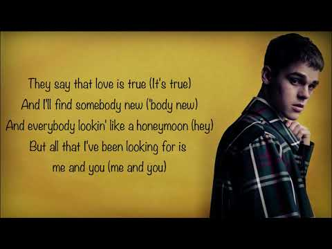 AJ Mitchell - All My Friends [Full HD] lyrics