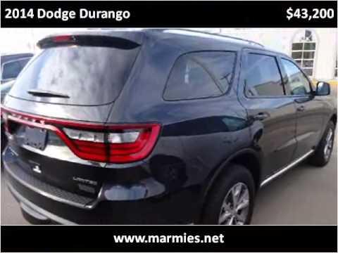 2014 Dodge Durango New Cars Great Bend KS - YouTube