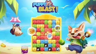 Puppy Blast Full Gameplay Walkthrough
