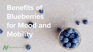 Benefits of Blueberries for Mood and Mobility