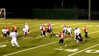 2010 East Islip Youth Football 11 year old Patriot Division vs Huntington