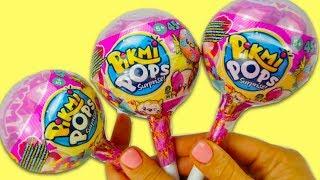 Сюрпризы Pikmi Pops с забавными игрушками для детей